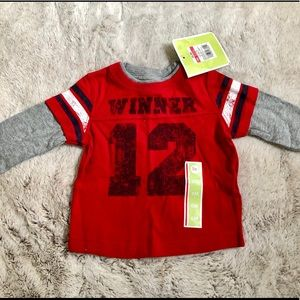 🎁NWT baby boys (6mos) cute CIRCO top.